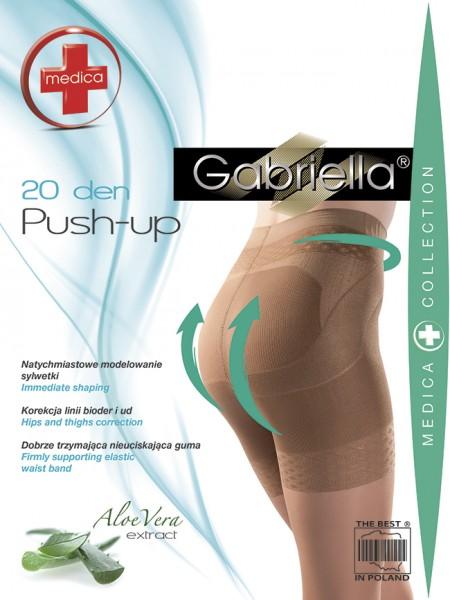 Gabriella Figurformende Strumpfhose Push Up, 20 den