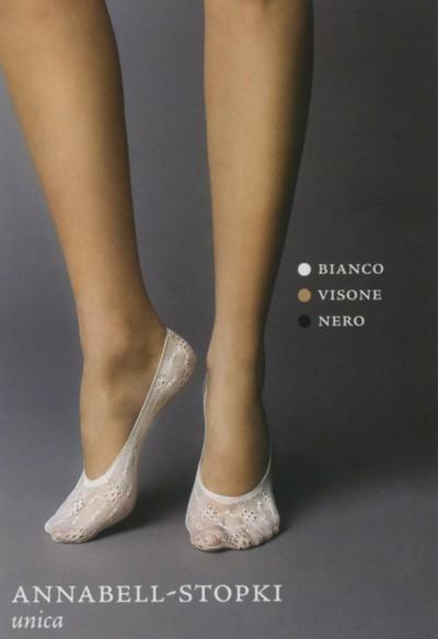 Veneziana Füßlinge mit blumigem Muster Annabel