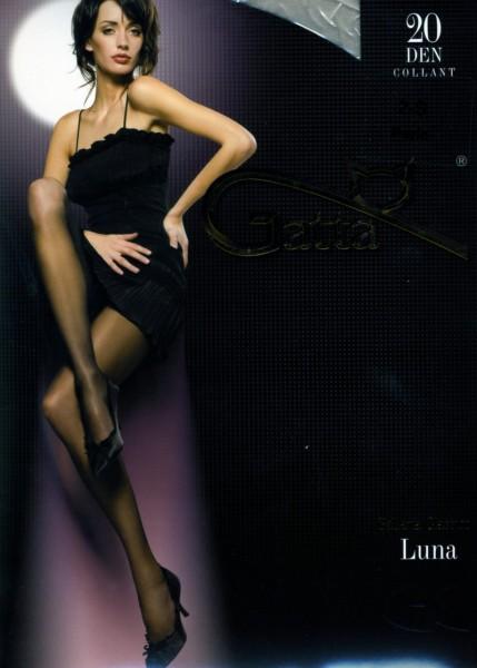 Gatta Klassische glatte Feinstrumpfhosen Luna 20 DEN