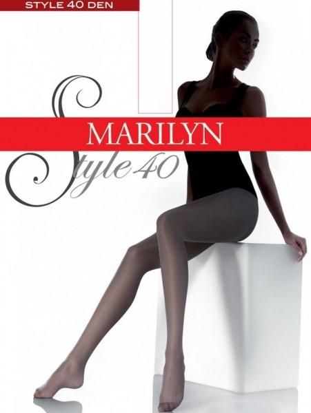 Marilyn Klassische glatte Feinstrumpfhosen Style 40 DEN
