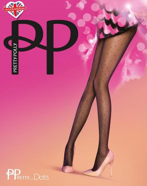 Strumpfhose mit angesagtem Pünktchenmuster PPretty…Dots von Pretty Polly