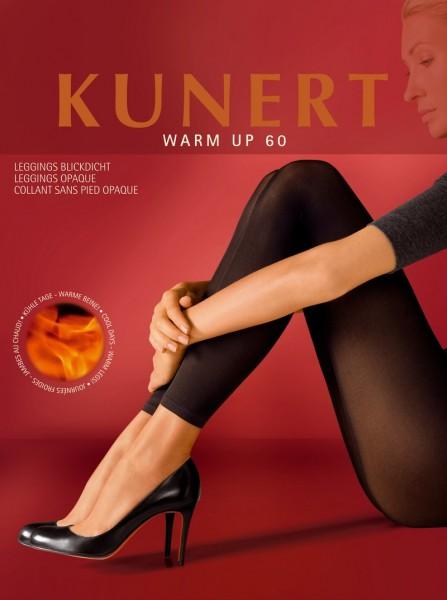 Kunert Blickdichte waermende Leggings ohne Muster Warm Up 60
