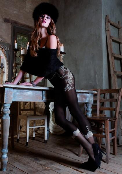 Trasparenze Italy Strumpfhose in raffiniertem Leggings-Look