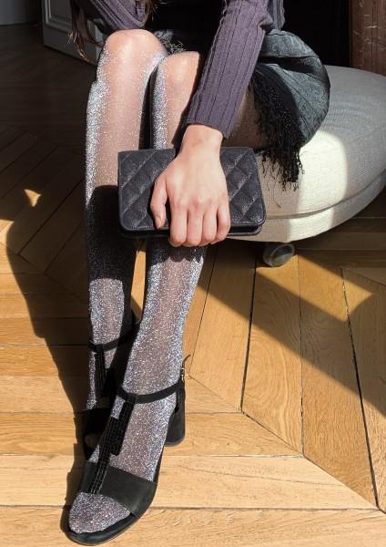 Gerbe Etincelle - Glamouröse Strumpfhose mit Lurex-Effekt