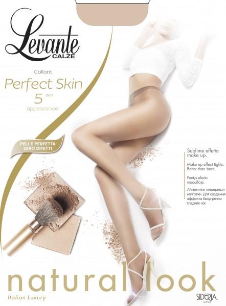 Levante Perfect Skin - Ultra-transparente Sommerstrumpfhose, 5 DEN