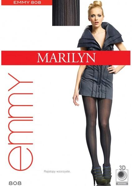 Marilyn Strumpfhose mit buntem Streifenmuster Emmy 40 DEN