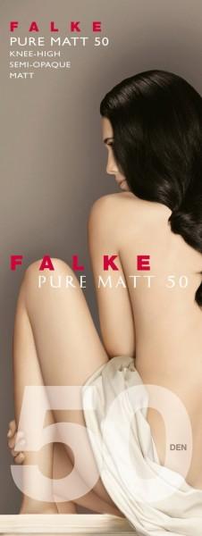 FALKE Pure Matt 50 Kniestrümpfe