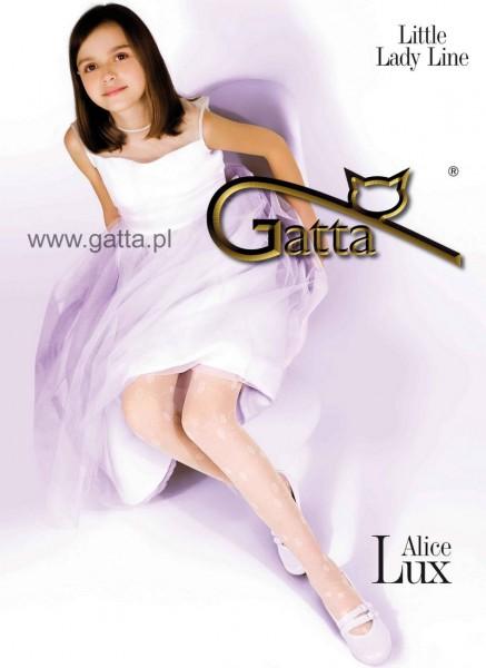 Gatta Strumpfhose mit Blumenmuster fuer Maedchen Alice