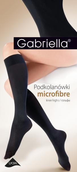 Gabriella Blickdichte, weiche Kniestrümpfe Microfibre