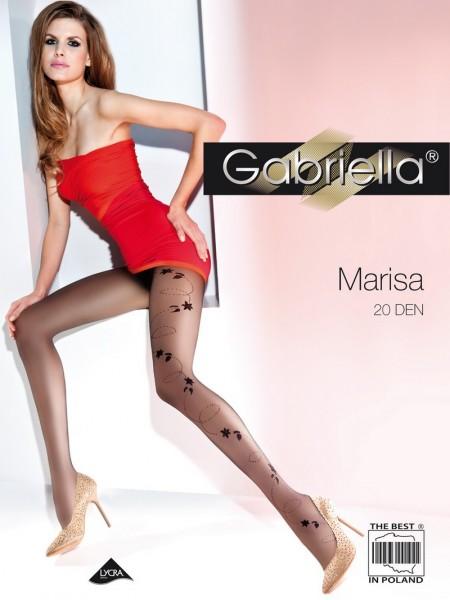 Gabriella Elegante gemusterte Feinstrumpfhose Marisa 20 DEN