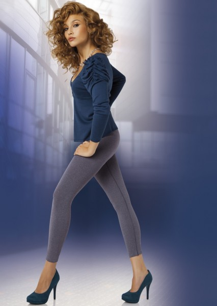 Annes Styling Blickdichte Leggings mit nahtlosem H