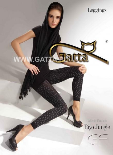 Gatta 7/8 Leggins mit Leopardenmuster Riyo Jungle