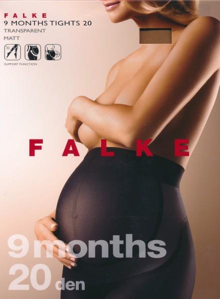 Falke 9 Months - Transparente Schwangerschaftsstrumpfhose