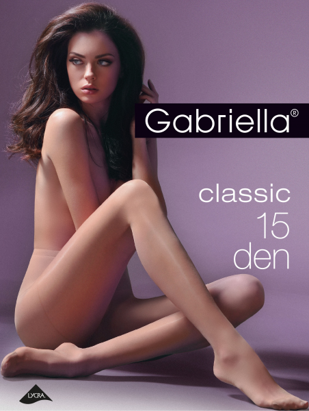 Klassische Feinstrumpfhose Miss Gabriella 15 DEN