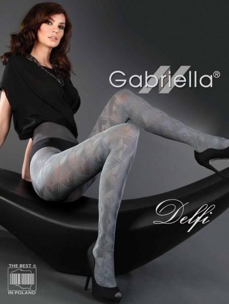 Gabriella Strumpfhose Delfi mit geometrischem Muster