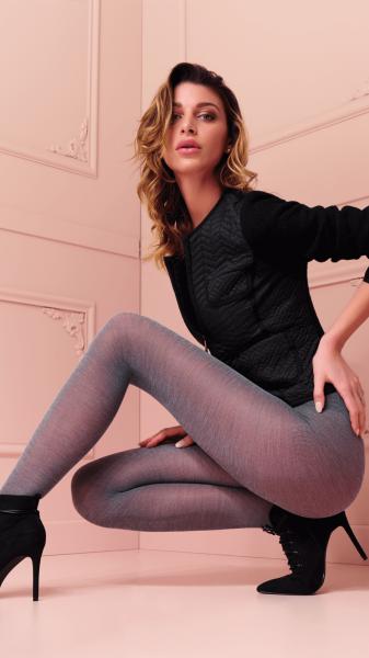 Trasparenze Alison - Warme Strumpfhose mit Wolle in Melange-Optik