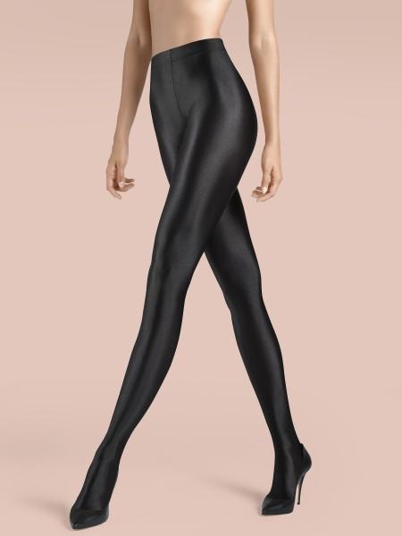 KUNERT de Luxe Claudia Schiffer Legs - Blickdichte, hochglänzende Strumpfhose Shiny Opaque