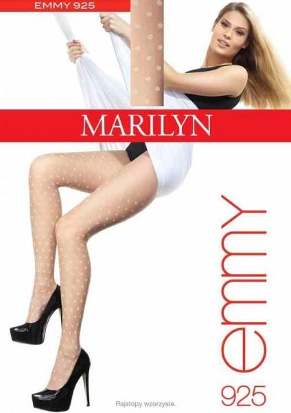 Marilyn Feinstrumpfhose mit angesagtem Tupfenmuster Emmy, 30 DEN