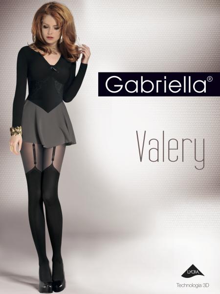 Gabriella Strumpfhose in verführerischer Strapsoptik Valery