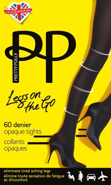 Pretty Polly Legs on the Go - Blickdichte Strumpfhose mit leichter Stützwirkung
