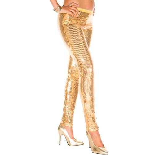 Pailletten Leggings GOLD