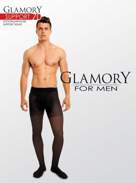 Glamory Support 70 - Blickdichte Stützstrumpfhose für Männer