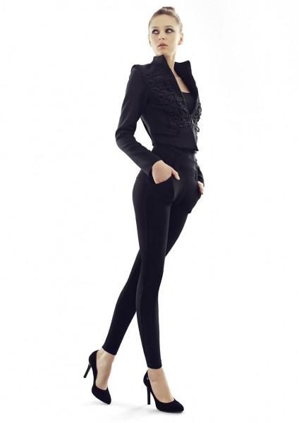 Elegante Leggings mit hohem Anteil an Baumwolle von Marilyn, 180 DEN