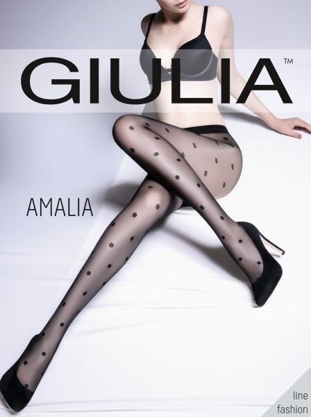 Giulia Amalia - Feinstrumpfhose mit Tupfenmuster
