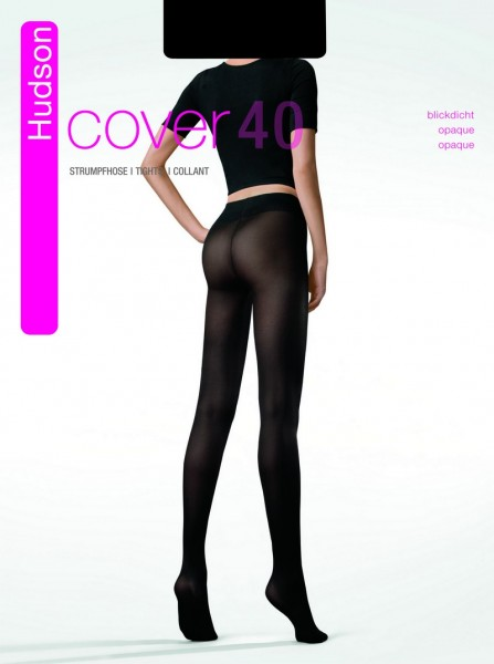 Hudson Blickdichte glatte Strumpfhose Cover 40