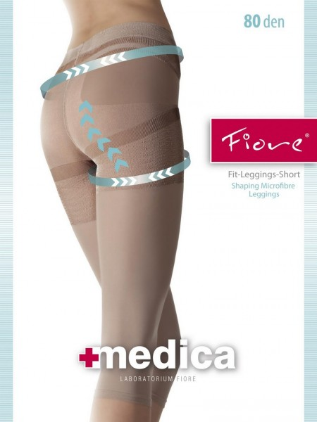 Fiore Figurformende Leggings in Capri-Laenge Fit
