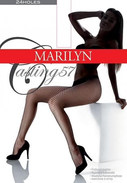 Marilyn Strumpfhose mit grober Netzstruktur Casting 57
