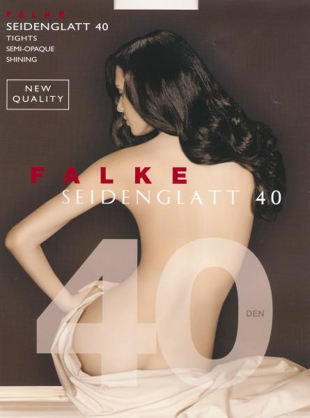 Falke Seidenglatt 40 - Semi-blickdichte Strumpfhose in leicht glänzendem Look