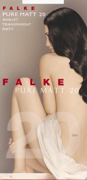 Falke Pure Matt 20 - Transparente matte Feinsöckchen