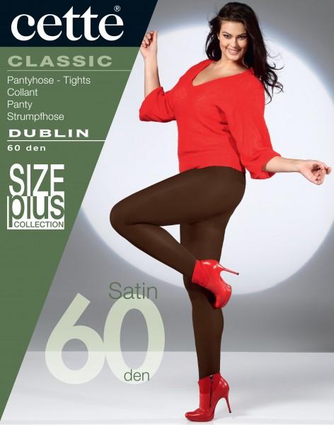 Cette Size Plus Collection - Blickdichte, weiche Plus Size Strumpfhose Dublin