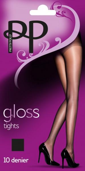 Pretty Polly Everyday Plus 10 denier Gloss tights - Klassische, glänzende Feinstrumpfhose