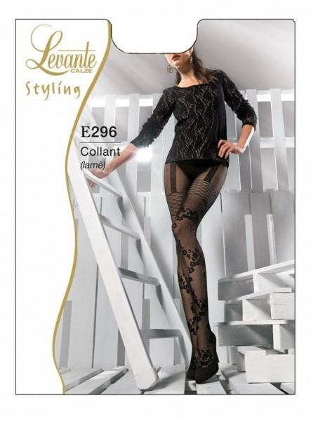 Levante Elegante Strumpfhose in angesagtem Leggings-Look 40 DEN