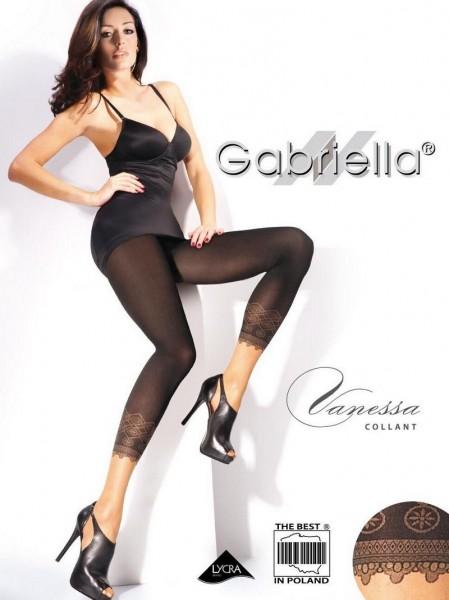 Gabriella Zweifarbige Feinstrumpfhose Leggings-Look Vanessa