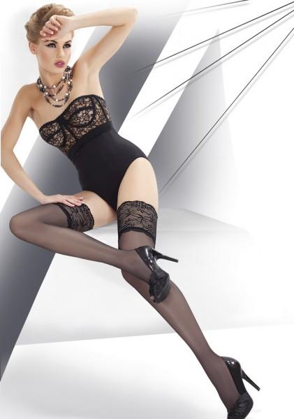 Annes Styling Elegante glatte halterlose Str