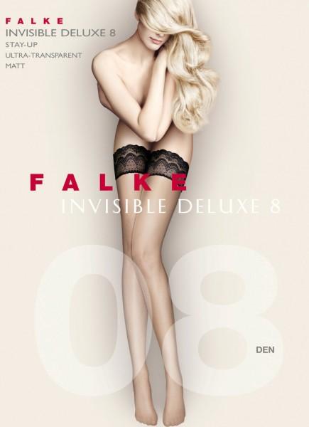 Falke halterlose Strümpfe Invisible Deluxe 8