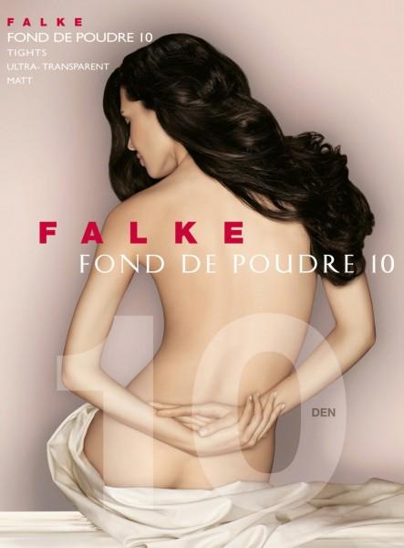 Falke Fond de Poudre 10 - Ultra-transparente Sommerstrumpfhose mit Matt-Effekt