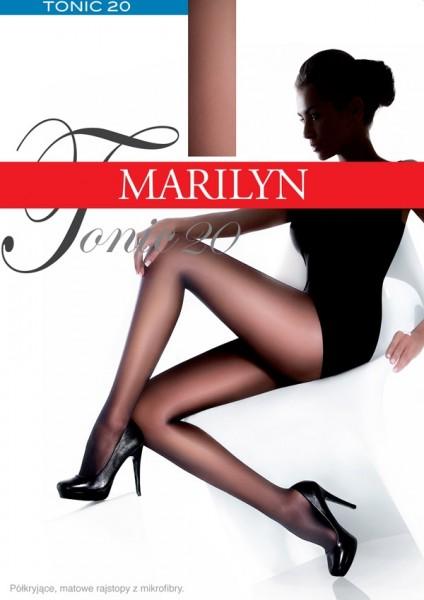 Glatte halbblickdichte Strumpfhose Tonic 20 von Marilyn