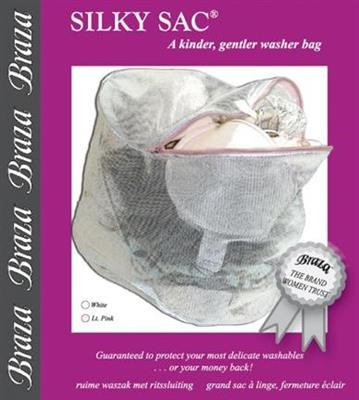 SILKY SAC Grosser Wäschebeutel mit Reissverschluss