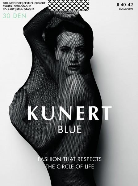 Kunert Blue 30 - Semi-blickdichte Feinstrumpfhose aus nachhaltigen Materialien