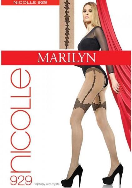 Marilyn Feinstrumpfhose in Strapsoptik Nicolle, 20 DEN