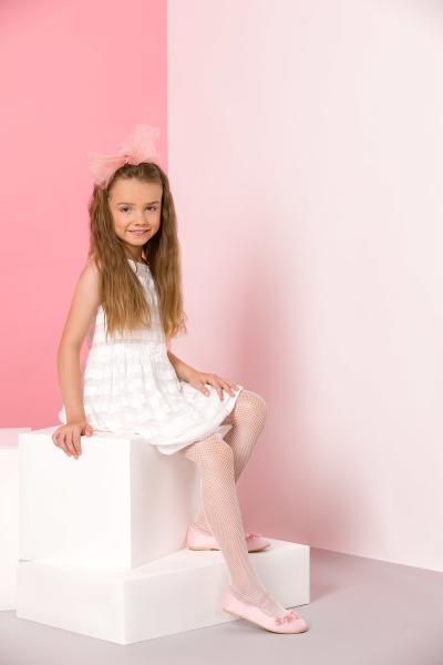 Gabriella Netzstrumpfhose für Mädchen Kabaretka Kids