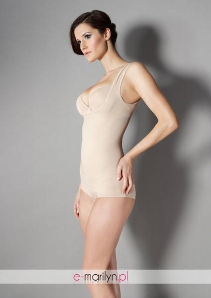 Marilyn Figurformendes Top mit weitem Ausschnitt Shaping Vest Corset