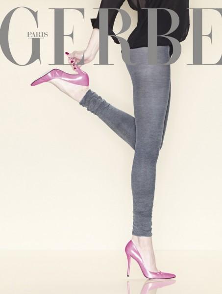 Gerbe Blickdichte Leggings mit eleganter Raffung Elanore