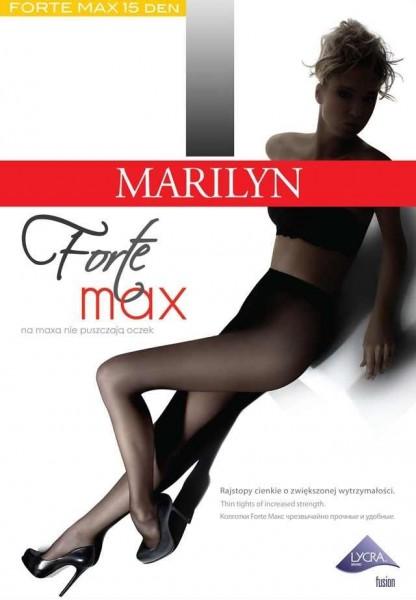 Marilyn Feinstrumpfhose, sehr widerstandsfaehig gegen Laufmaschen, Forte Max 15 DEN