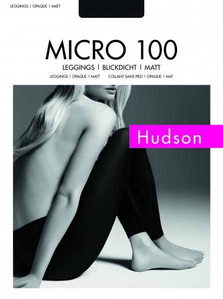 Hudson Micro 100 - Blickdichte, matte Leggings
