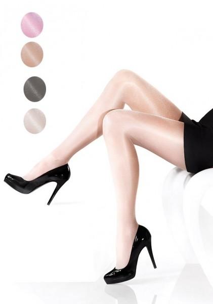 Marilyn Dezent glaenzende, glatte Feinstrumpfhose Nudoshine 20 DEN